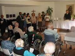 Gottesdienst im Pflegeheim